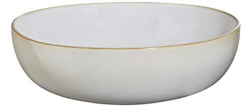 ASA Selection - Salatschale - Steinzeug/glasiert - Sand D. 29,5 cm x H. 9 cm