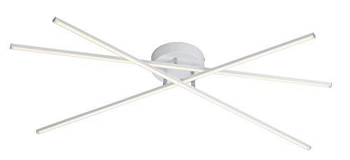 Trio Leuchten Tiriac Lampada da soffitto 8.5 W, Bianco Opaco