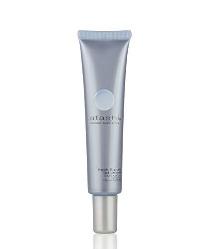 Atashi DD Cream Stay Matte | Crema Hidratante Madificante con Color | Cobertura Uniforme | Minimiza Poros Imperfecciones | Pieles Mixtas a Grasas