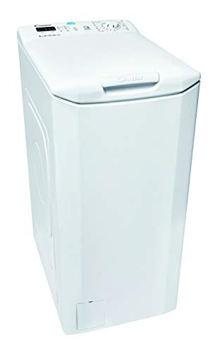 Candy CST 362L-S Toplader Waschmaschine / 6 kg / 1200 U/Min/Smarte Bedienung mit moderner NFC-Technologie