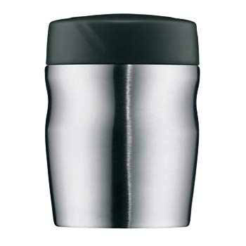 Isolier-Speisegefäß Henkelmann foodMug 0, 35ltr. Edelstahl matt alfi (2 Stück)