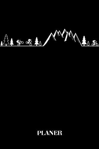Planer: Mountainbike Fahrrad Outdoor Kalender Organizer Terminplaner Terminkalender Wochenkalender - Geschenk für Mountainbiker Radsportler ... - A5 Softcover 52 Wochen auf 120 Seite