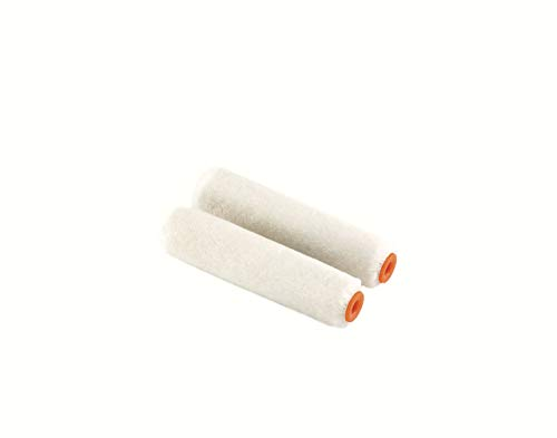 1 paar 10 cm Mohair nagellak-rollen capriol