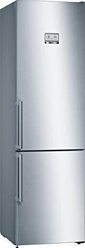Bosch KGN39AIDR Serie 6 - Frigorifero indipendente, A+++ 203 cm, 182 kWh anno, Inox-antifingerprint da 279 l, vano frigorifero da 87 l, congelatore, NoFrost e VitaFresh plus