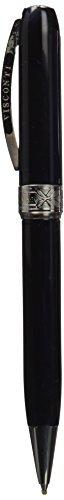 Visconti Rembradt - Bolígrafo de resina noble, color negro