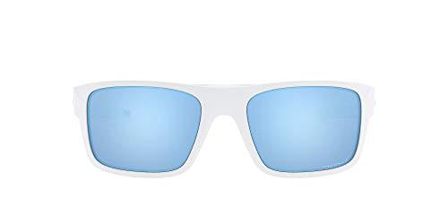 OAKLEY - Drop Point 936705 - Montures de Lunettes - Homme - Blanc (Polished White/Prizmdeepwaterpolarized) - Taille: 61