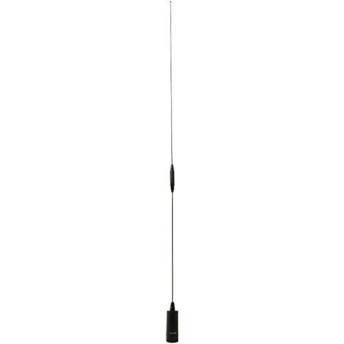 tram-browning BR-180-B Amateur Dual Band NMO Antenna 2.4dBd 144MHz–148MHz/5.5dBd 430MHz–450MHz, Black