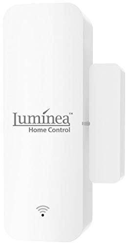 Luminea Home Control Türsensor: WLAN-Tür- & Fensteralarm mit App, komp. zu Alexa & Google Assistant (Fensterkontakte)