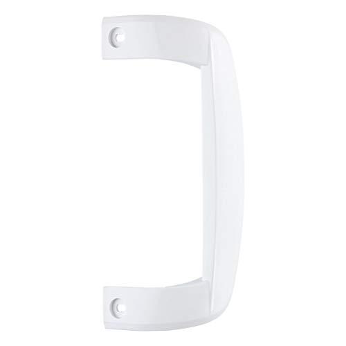 Amica 1030955 ORIGINAL Türgriff Kühlschrankgriff Griff Gefrierschranktürgriff weiß Kunststoff Gefriergerät Kühlautomat Gefrierschrank Kühlschrank