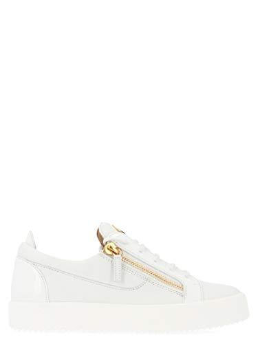 GIUSEPPE ZANOTTI Luxury Fashion Design Mens Sneakers Summer White