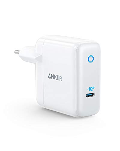 Anker PowerPort Atom III 60W PowerIQ 3.0 & GaN Power Delivery kompaktes USB-C-Ladegerät, für USB-C Laptops, MacBook Pro/Air, iPad Pro, iPhone XR/XS/Max/8, Galaxy, Pixel, Nintendo Switch