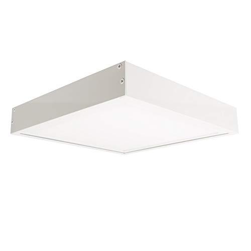 LEDKIA LIGHTING Kit di Superficie Pannelli 60x60cm Bianco