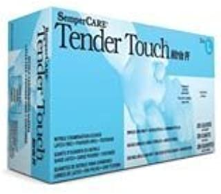 Sempermed Tender Touch TTNF Blue Large Nitrile Powder Free Disposable General Purpose & Examination Gloves - Medical Grade - Rough Finish - TTNF204 [PRICE is per BOX] by Sempermed