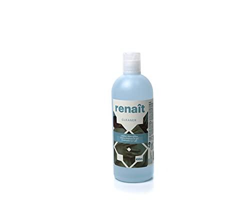 Desengrasante, preparador y finalizador para esmaltes semipermanentes, uñas de gel UV LED y manicura tradicional. Cleaner Renaît 400 ml.