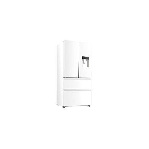 Continental edison ceraf536dw réfrigérateur Multi portes-536 l (350+186)-Froid ventilé-Classe a +-l 83,3 x h 182 cm-Blanc