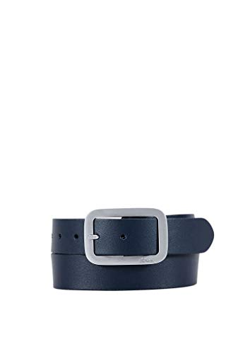 s.Oliver Damen Gürtel aus Leder dark blue 85