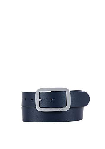 s.Oliver Damen Gürtel aus Leder dark blue 95