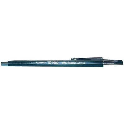 Faber-Castell 139520 - Fallminenstift TK 9500, Minenstärke: 2 mm, Härtegrad: OH, Schaftfarbe: grün