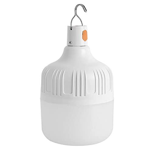 Rishx-lamp Linterna de Camping Nocturna, lámpara de Camping portátil para Exteriores Recargable USB 800WLED Bombilla de Trabajo y suspensión, terraza de Camping Barbacoa de jardín (80w)