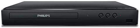Philips BDP1502 Blu-Ray Disc / DVD Player with DVD Video upscaling to HD and 6FT HDMI Cable Included (Renewed)