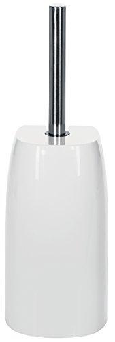 """Spirella WC Bürste Klobürste Toilettenbürste hochwertig """"Pure"""" ØxH: 12 x 35,5cm - Weiß"""