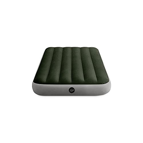 Intex Dura-Beam Standard Series Prestige Downy Airbed with Battery Pump, Twin