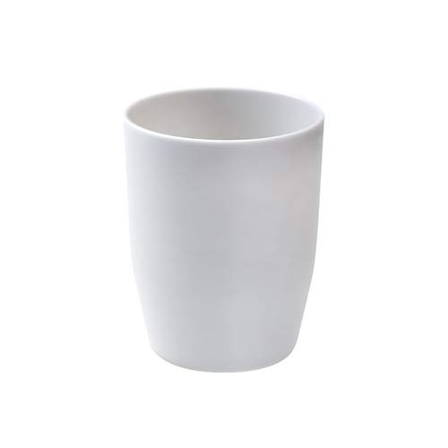 FHC Tasse de Brosse Coupe, Tasse Lavage Plat Dents de Brosse à Dents de Voyage,Gray