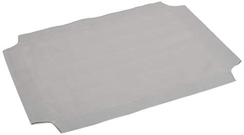 Amazon Basics Toile de remplacement pour lit surélevé et aéré pour animal domestique Coloris gris Taille S