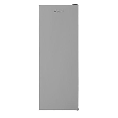 TELEFUNKEN KTFG15421FS2 Gefrierschrank Silber/Tiefkühlschrank - Leise & effizient / 145,5 cm hoch/Türanschlag wechselbar