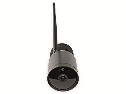 Nedis Cámara al Aire Libre Smartlife Cámara al Aire Libre Smartlife | Wi-Fi | Full HD 1080p | IP65 | Cloud/Micro SD | 12 V DC | Visión Nocturna | Android & iOS | Negro Negro