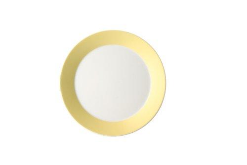 Arzberg Tric Gelb Frühst.Teller 22/FA, Porzellan, Yellow, 22.3 x 22.5 x 8.2 cm