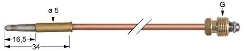 Küppersbusch Thermoelement für NGP400, EGB230, EGB430, LGP400, PGB438 Länge 450mm Steckhülse ø 5,0mm Steckhülse ø5,0mm