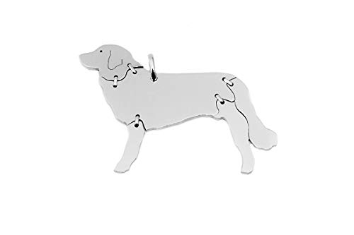 Hova portero Perros Animales de colgante Medium colgante de plata de ley 925joyas 095cm
