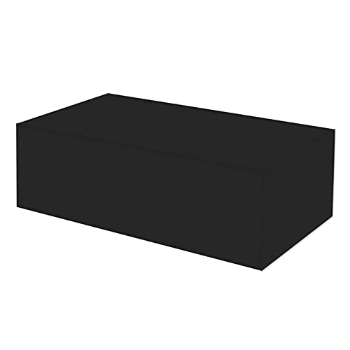 Patio Furniture Set Covers 150 * 120 * 71Cm Rectangular Patio Heavy Duty Table Cover Waterproof Outdoor Protective Covers 210D Oxford Rain Snow Dust Wind-Proof Anti-Uv