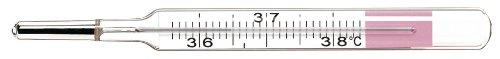 Geratherm 4751006511 - Termometro analogico senza mercurio, per il controllo del ciclo mestruale