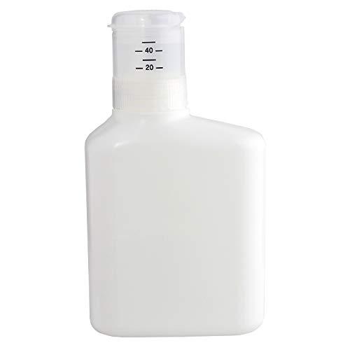 レック 押して計量 詰め替え 洗剤ボトル 1000ml ( 液体洗剤用 ) 無地 ホワイト デザインシール付き W00109