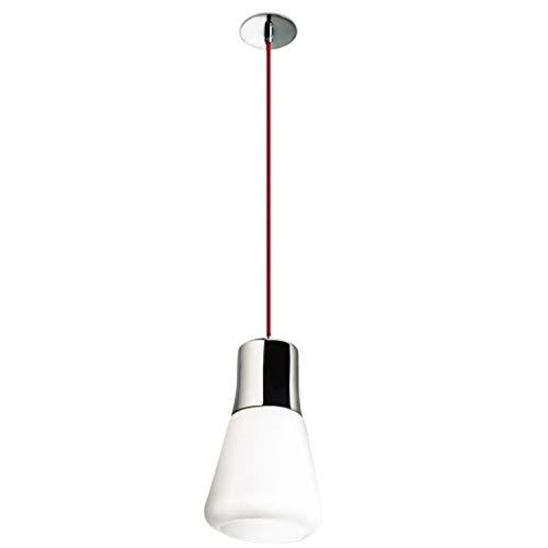LEDs-C4 00-2018-21 F9-Pendentif drop 1xe27 60w chromé