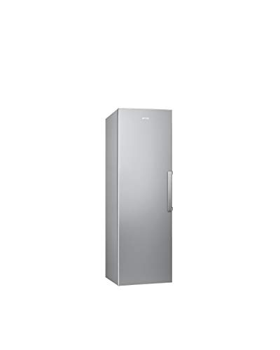 Smeg CV282PXNF Vertikaler Gefrierschrank, 60 cm, Edelstahl, Anti-Fingerabdruck, Energieeffizienzklasse A++