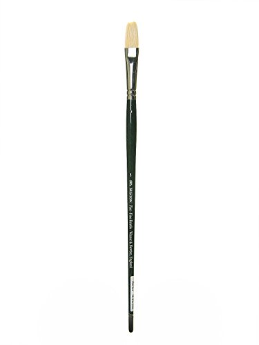 Winsor & Newton Artists - Pennello Winton in setola di cinghiale con punta lunga e piatta 8