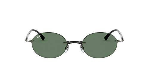 Ray-Ban RB8060 Gafas, BLACK/GREEN, 54 Unisex Adulto