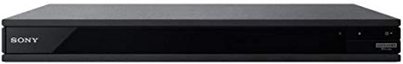 SONY X800 2K/4K UHD - 2D/3D - Wi-Fi 2.4/5.0 Ghz - Clear Audio - Multi System All Region Blu Ray Disc DVD Player 100-240V 50/60Hz Auto
