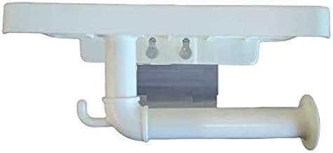 Ergode Self Adhesive Bathroom Toilet Tissue Paper Roll Holder Dispenser with Mobile and Broom Holder-Multicolor