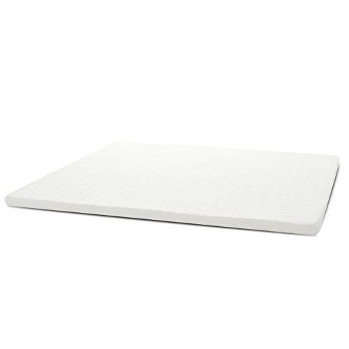 YOUWIN - Coprimaterasso in memory foam, 180 x 200 cm, morbido materasso, per letti primaverili, con rivestimento rimovibile e lavabile, materasso sottile, dimensioni materasso 180 x 200 x 6 cm