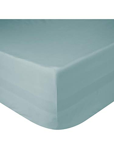 "Rohi Extra Deep 16""/40cm Deep Fitted Bed Sheets – Easy Care Deep Fitted Mattress Bed Sheets (Duck Egg, King)"