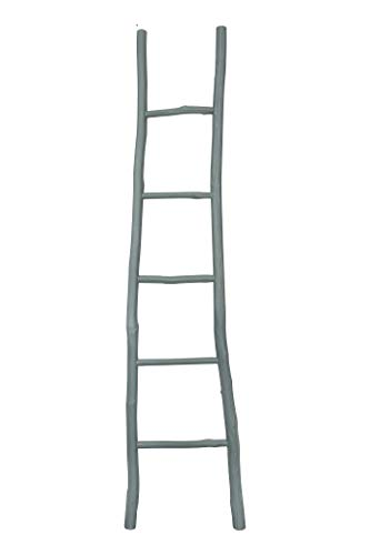 Creative Co-op Decorative Wood Ladder Misc Furniture, Grey