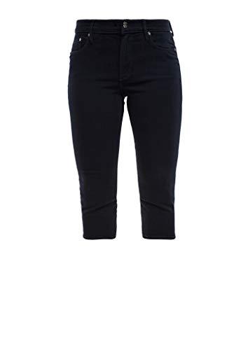 s.Oliver Damen 04.899.72.7233 Hose 3/4 Jeans-Shorts, Blue, 42