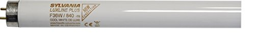 Sylvania SYL0001510 Mural-Barre Réglette Néon Led-Lampe Neon-tube fluo 36w blanc froid, Aluminium, G13, 36 W, 120 x 2, 6