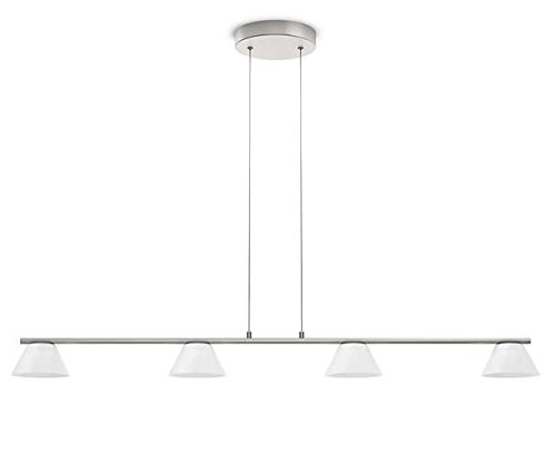 Philips 360211716 Vendee Luminaire d'Intérieur Suspension LED Métal Chrome 4,5 W