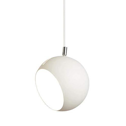 SPNEC Candelabro: Accesorio Colgante de Techo con candelabros de Cabeza Lámpara Colgante Creativa de Oficina Moderna, Blanco