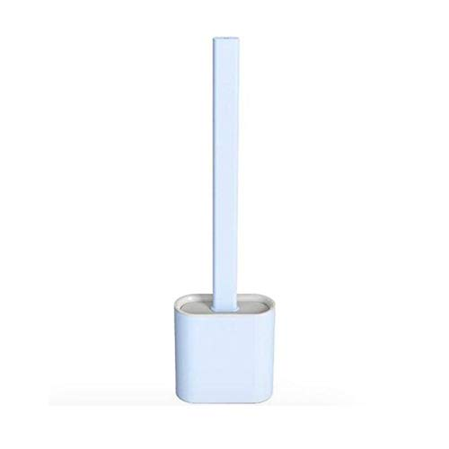 SHOP-STORY - Toilet Brush Blue : Brosse WC Hygiénique en Silicone Flexible